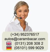 Mietwagen Malaga Kontakt