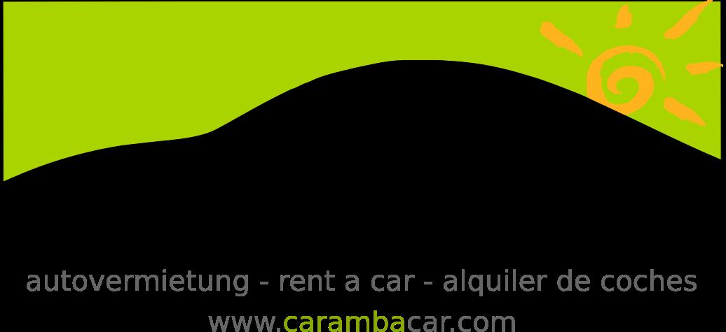 Mietwagen Malaga FLughafen mit Caramba